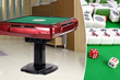 【Free Delivery!!】Foldable Automatic Mahjong Table 3 colors available
