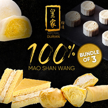 100% Mao Shan Wang Only $24 Mix and Match Bundle of 3 Boxes