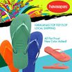 2017 SS New Arrival!HAVAIANAS SLIM Filp flop 100% Authentic Local Fast Shipping