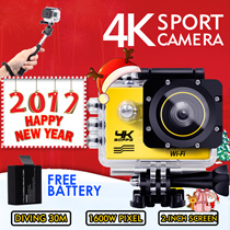 ◎New Year Sale 4K SJ9000 WiFi Sport HD mini camcorder underwater shoot digital camera waterproof diving trips miniature wide-angle 3D Camera Hidden DV aerial camera