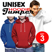 ★★ BEST DEAL ★★ BUY 1 GET 3||Hoodies Jumper Unisex M-XL High Quality ★★|SETIAP PEMBELIAN LANGSUNG MENDAPTKAN 3PCS