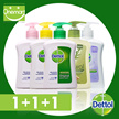 ◄ DETTOL ► Hand Soap 2 x 250ml + 250ml (=750ml) ★ UP$9.9 (30% OFF) [Bundle Sales 1+1+1]