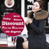 2017 High quality Women Autumn winter jacket coat down jacket Office wear clothing plus size dress hat sweater windbreaker clothes pants leggings gift -0 to -30°