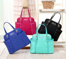 MG Nylon Shell / Crossbody Bag with Sling in 6 COLORS (Black Blue Teal Rose Purple Red)