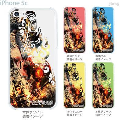 【iPhone5c】【iPhone5cケース】【iPhone5cカバー】【ケース】【カバー】【スマホケース】【クリアケース】【クリアーアーツ】【Clear Arts】【SICK】【Digital tattoo works】【タトゥー】 56-ip5c-sc0008の画像