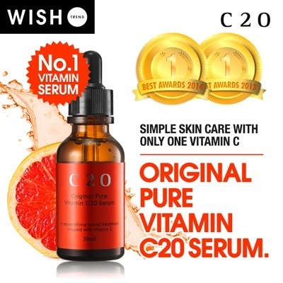 OST C 20 Pure Serum Vitamin C ORIGINAL 30ml _-BEST SELLER c20 IN Qoo10-