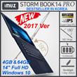 [:MUZ]  Stormbook14 Pro / 10 Hours Work Time/ 8th HD graphics / Quad-Core CPU / Windows10 /laptop