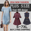 [BUY 2 FREE SHIPPING]plus size dress TODAY NEW ARRIVALS DRESS  ▲ Europe and the United States Fashion Dress Lady Dress Bohemia dress skirt  shirt with vest.