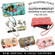 【MyShoppingPlace】GSS Sale★Clutch/Wristlet/Coin/Wallet/Key Pouch★Waterproof Light Weight★Travel bag★Bracelets★Charms★Gifts★Sale★New Collection★
