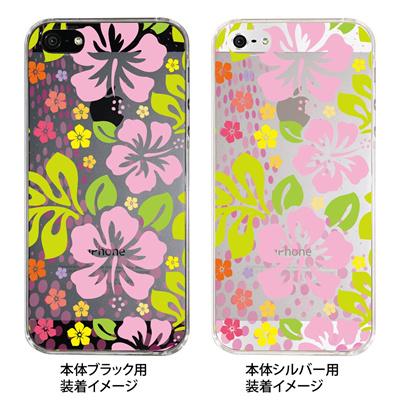 【iPhone5S】【iPhone5】【Clear Fashion】【iPhone5ケース】【カバー】【スマホケース】【クリアケース】【フラワー】 ip5-21-ca0003の画像