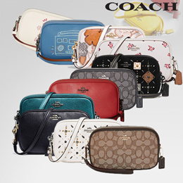 [Coach] department store Clutch Crossbody/Official Genuine Products Shipped from USA