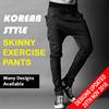 DESIGNS UPDATED 20/11/2016! MENS KOREAN STYLE SKINNY EXERCISE PANTS CASUAL JOGGER DANCE SPORTWEAR HAREM SLACKS TROUSERS SWEATPANTS SPORTS GYM