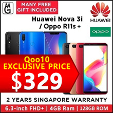 Huawei nova 3i  4/128GB | Oppo R11s 4/64GB  2 Years Manufacturer Warranty.