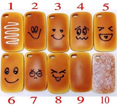 パンの香り付きの新感覚iPhone4ケース iphoneカバー【Marathon10P05Sep12】【fsp2124】【マラソン201302_最安値挑戦】の画像