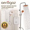 Aerogaz Instant Water Heater(S.895) + Rainshower Set