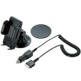 【クリックでお店のこの商品のページへ】MPA-CH001DCBK iPhone用車載ホルダー