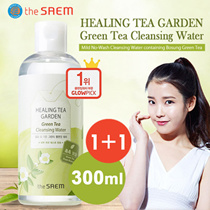 (1+1) The Saem Green Tea Cleansing Water