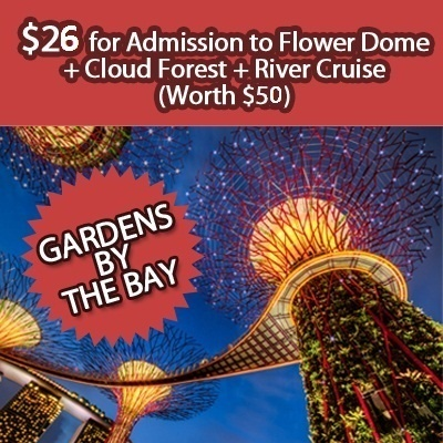 Garden By The Bay Admission qoo10 - $39 for gardenthe bay: admission to flower dome and