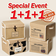 💕[1+1+1] Special Price💕Storage Box/Perfect for Home Organizing/Kids Toys Box/must have