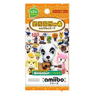 どうぶつの森amiiboカード第2弾-アミーボ-(ゆうパケット対応)