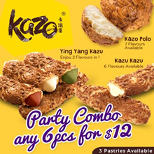 KAZO Party Combo $12 for 6pcs [choose any 6pcs from selected items]