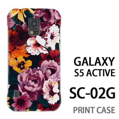 GALAXY S5 Active SC-02G 用『1000 花蓮』特殊印刷ケース【 galaxy s5 active SC-02G sc02g SC02G galaxys5 ギャラクシー ギャラクシーs5 アクティブ docomo ケース プリント カバー スマホケース スマホカバー】の画像
