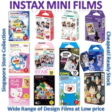 █ ♥Cheapest♥ █ Instax Mini Film For Mini 8 7s 25 50s 90 Cartoon Plain hello Kitty Polaroid Sanrio