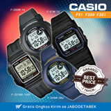 [LOWEST PRICE !!]CASIO Genuine Digital Watch Alarm Stop Watch Stopwatch Simple Cheap Cheapest F91 F200 F201 # Jam Tangan Pria/Wanita # FREE SHIPPING JABODETABEK
