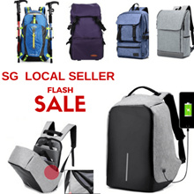 [SG Seller] Korea/Japan design unisex backpack and school bags/Gift/Personalized/Customized/Traveler