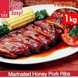 [CS Tay] Marinated Honey Pork Ribs (1KG)!