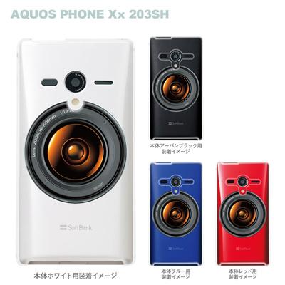 【AQUOS PHONEケース】【203SH】【Soft Bank】【カバー】【スマホケース】【クリアケース】【クリアーアーツ】【カメラ】 08-203sh-ca0096の画像
