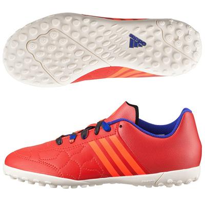 アディダス (adidas) ジュニア エース 15.3 CG J(ボールドオレンジ×ソーラーオレンジ×チョークホワイト) B27234 [分類:フットサル フットサルシューズ (屋外用)]の画像