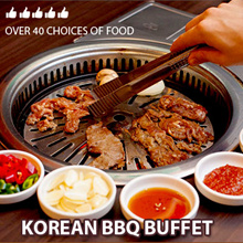 Best price in Singapore.Korean BBQ buffet from Arirang.More than 40 food choices. Valid daily at bugis.