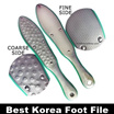 USUAL$128* NOW! $22.90  KOREA PLC Foot File READY STOCKS SG CALLUS STURDY FOOT FILE FOR SMOOTHNESS!!