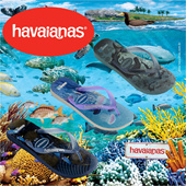 [Exclusive 2016]Authentic Havaianas Unisex Top Conservation Int / 2 Pairs FREE SHIPPING