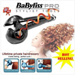 QUALITY GUARANTEED* Hair Curl Pro Curling * Babyliss Miracurl Curler Iron -HOTTEST PRODUCT (Only Black Color)