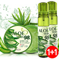 [NECLAR]★ALOEVERA MOISTURE COLLECTION 1+1★ALOEVERA/ SOOTHING MIST/ Aloe extract/ Moisture/ Cooling/ A calming effect/ Moisturizing care/ Microscopic injection capacity/ SBA_071