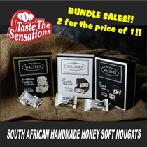 [Nuts n Co] South African Handmade Honey Soft Nougats ~ Bundle sales!! 2 for the price of 1!!