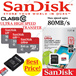 SANDISK Micro SD/SDHC/SHDXC Class10 8gb/16gb/32gb/64gb Memory cards max speed of 80mb/s for Mobile/Tablets/Camera/GPS/GoPro/Xiaomi/Samsung.Local Stocks Local Dealer