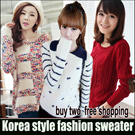 New Arrival * Winter Sweater Thermal Jacket*Korean version of womens sweaters / sweet little fresh and simple sweater