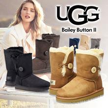 🔥Qoo10クーポン使えます♪🔥正規品 UGG Bailey ButtonⅡ1016226 撥水・防汚性がプラスされリニューアルされたモデルです!【ご予約商品】5日~10日間前後でのご発送です