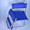Portable Folding Chair Backrest Fishing Chair Small Blue Folding Stool