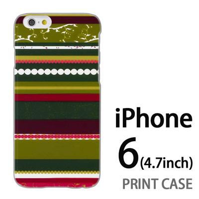 iPhone6 (4.7インチ) 用『0707 アジアストライブ 緑』特殊印刷ケース【 iphone6 iphone アイフォン アイフォン6 au docomo softbank Apple ケース プリント カバー スマホケース スマホカバー 】の画像