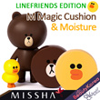 ★LINEFRIENDS EDITION★ [MISSHA] M Magic Cushion/Moisture Package SPF50+/PA+++