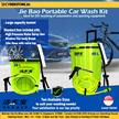 Jie Bao Portable Electric High Pressure Car Wash Kit Accessories Foam Spray Gun Home Hose Outdoor