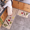 [VOOTEEN]Kitchen mat/Kitchen carpet/rug/bedroom carpet strip/ water bath slip carpet/home door mat