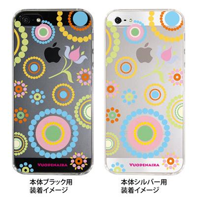 【iPhone5S】【iPhone5】【Vuodenaika】【iPhone5ケース】【カバー】【スマホケース】【クリアケース】【フラワー】 ip5-21-ne0007の画像