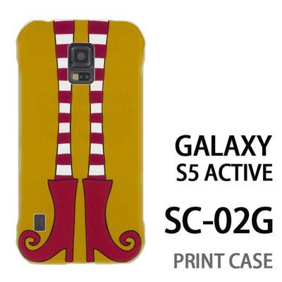 GALAXY S5 Active SC-02G 用『1000 細足ブーツ 若草』特殊印刷ケース【 galaxy s5 active SC-02G sc02g SC02G galaxys5 ギャラクシー ギャラクシーs5 アクティブ docomo ケース プリント カバー スマホケース スマホカバー】の画像