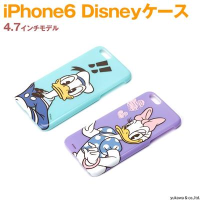 iphone6ケース ディズニーハードケース ドナルド デイジー disney ハードケース スマホケースの画像