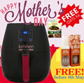 💗MOTHER DAY SPECIAL💗【KRONEN HEALTHY AIR FRYER】WITH 6 GIFTS + EXTRA GIFT! THE BEST AIR FRYER IN SG